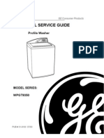 31-9103 GE Profile Washer Service Manual