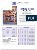 910MA - Potting Table