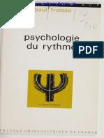Paul Fraisse psicología del ritmo