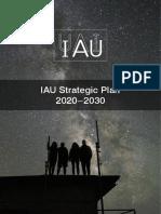 IAU; Strategic Plan-2020-2030