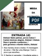 Missa de Ascensão do Senhor