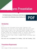 key figures presentation  renaissance and reformation