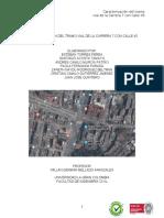 Informe  Cra 7 con calle 45 Bogotá