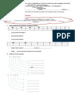 Matemáticas - Sistema de numeración decimal y orden de los números - 4°