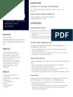 annabel benjamin april 2020 resume
