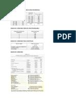Formulas diseño termofluidico