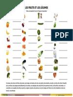 Fruits et Légumes A1
