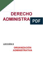 LECC 8 - ORGANIZACION ADMINISTRATIVA (1)