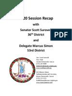 FCDC 2020 Session Recap Senator Scott Surovell and Delegate Marcus Simon
