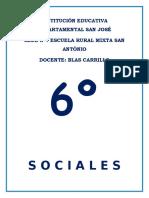 TALLERES 6º GRADO CIENCIAS SOCIALES