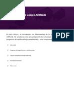La plataforma de Google AdWords