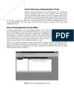 Chapter 3 - Active Directory Administrative Tools