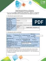 Guia de actividades y rubrica de evaluación - Tarea 4 - Proponer solución del problema de Con