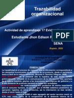 Evidencia 1 ARTICULO TRAZABILIDAD ORGANIZACIONAL