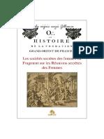 Thory Claude-Antoine - Histoire de la fondation du Grand Orient de France Tome 3.pdf