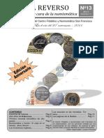 El Reverso No. 13 - Boletín Filatélico y Numismático