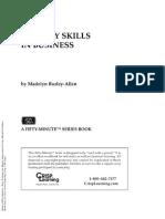 Memory Skills In Business - Madelyn Burley Allen
