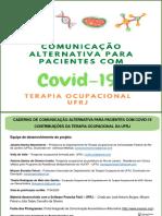PRANCHAS DE COMUNICAÇÃO ALTERNATIVA COVID 19_Terapia Ocupacional_UFRJ