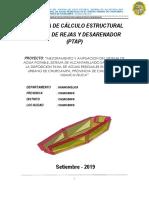 MEMORIA DE CALCULO CAMARA DE REJAS Y DESARENADOR CHURCAMPA PTAP (2).pdf