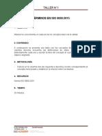 Taller 1 ISO 9001.2015