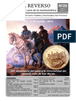 El Reverso No. 29 - Boletín Filatélico y Numismático