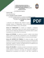 ACTIVIDAD DE LA LEY ORGANICA DEL TRABAJO