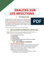 Generalites Sur Les Infections