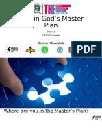 Man in God's Master Plan