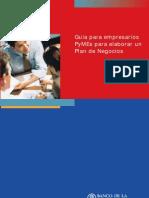Manual Plan de Negocios (BNA)