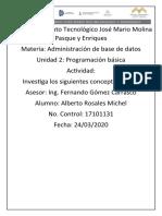CONCEPTOS BASICOS LIGADORES LENGUAJE DE INTERAZ