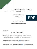 Aulas iniciais - Sinais e SIstemas 2- 2017-2.pdf