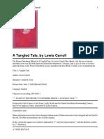 A Tangled Tale; Carrol L.