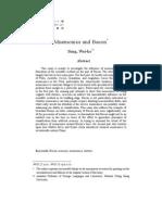 Mnemonics and Bacon - Sung, Wei-Ko