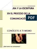 LA LECTURA Y LA ESCRITURA1