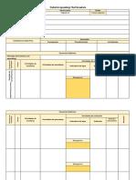 PLANTILLA VACIA Esquema de Planificación de Unidad de Aprendizaje de Secundaria.