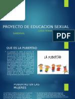 PROYECTO DE EDUCACION SEXUAL -LUISA SANDOVAL