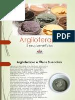 E-book de Argiloterapia