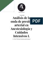Análisis de la onda de presión arterial en Anestesiología y Cuidados Intensivos I. - AnestesiaR