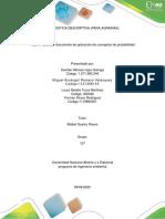 Fase 3 –Elaborar documento de aplicación de conceptos de probabilidad