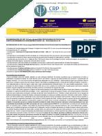 Conselho Regional de Psicologia - 10ª Região Pará _ Amapá_ Notícia