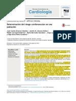 Determinacióndelriesgocardiovascularenunapoblación