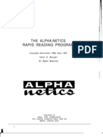 THE ALPHA-NETICS RAPID READING PROGRAM - Owen D[1]  Skousen