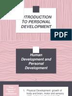 Lesson 1 Personal Development