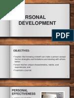 Lesson 2 Personal Development