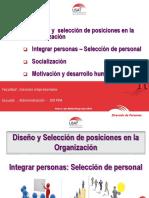 Clase 03_Diseño y Selección de posiciones en la organización_Motivación_Socialización