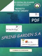 Expo Proyecto Sprng Garden