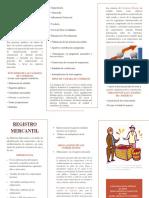 FOLLETO CAMARAS DE COMERCIO