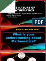 Lesson 1 Nature of Math