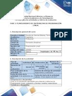 Guía de actividades y rubrica de evaluación - Fase 2 - Redactar un problema de programación Lineal (1)