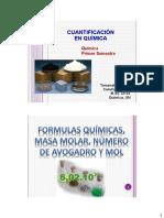 Cuantificación en Química